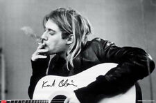 Kurt Cobain Nirvana - Smoking - Musik - Poster Druck - Größe 91,5x61 cm