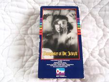 DAUGHTER OF DR. JEKYLL VHS KEY VIDEO 50'S CLASSIC HORROR GLORIA TALBOT JOHN AGAR