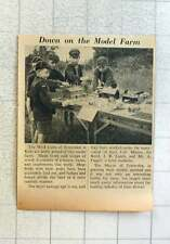 1953 Tenterden Wolf Cubs Working On Their Model Farm