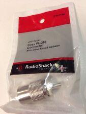 Uhf-Type Coax Pl-259 Connector #278-0188 by RadioShack