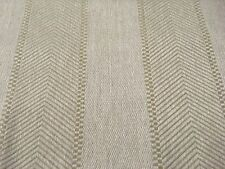 Colefax & Fowler Herringbone Fabric- Franklin Stripe / Natural 1.80 yd F4020/04