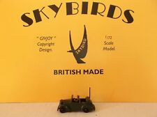Skybirds Models Army Radio Car.