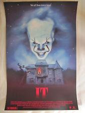 Tom Walker IT Horror Movie Poster Screen Print Fright Night Mondo Style Rare