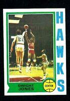 NMT 1974 Topps Basketball #59 Dwight Jones.