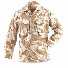 Genuine UK surplus British military desert DPM camouflage uniform shirt S short