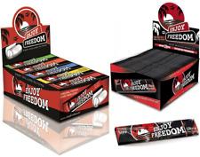 1600 Cartine Lunghe Enjoy Freedom Slim BLACK Ultra Thin + 1600 FILTRI DI CARTA