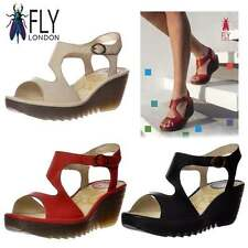 Fly London Women's Casual Wedge Strappy, Ankle Straps Shoes