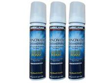3 frasco Espumas Minoxidil 5% Kirkland Hombre- FOAM  PARA 3 MESES
