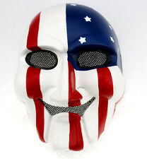 Outdoor Sport CS Gun Paintball Full Face Protection SAW Mask Cosplay A0373