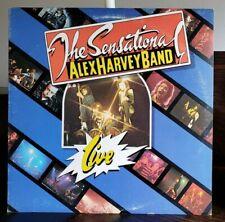 THE SENSATIONAL ALEX HARVEY BAND RCA Record Club 1975 Atlantic SD 18148  LIVE NM