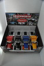 NewRay Set of 4 Truck Cab Peterbilt Model 379 & Kenworth W900 1:32 scale