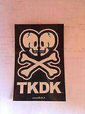 tokidoki sticker - TKDK Double Skull Logo