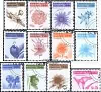 Togo 2830-2841 (kompl.Ausg.) gestempelt 1999 Freimarken: Blumen