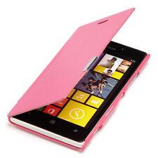 Microsoft Nokia Lumia 925 Tasche Case Schutz Hülle Etui Cover pink