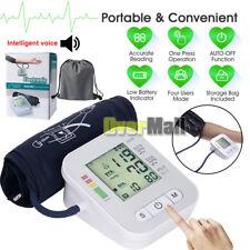 2018 Digital LCD Blood Pressure Monitor Automatic Upper Arm Cuff Home Machine US
