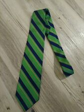Brooks Brothers Makers Stripe 100% Silk Green Rep Tie 80ce4abf9