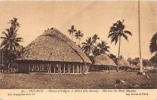 B84869 maison d indigene a apia missions des  peres marisles  oceania samoa