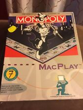 Macplay Monopoly for Apple 7 Computers New Sealed 1994 Classic Game Parker Bros