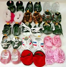 Build A Bear BABW Large Shoe Lot Sneakers,Boots,Slippers 16+ Skates