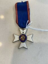 RARE  ROYAL VICTORIAN ORDER MEMBER (Missing crown) See Photos Numbered