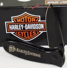Case XX Harley-Davidson Black Motor Cycle Tec X Biker Skull Folding Pocket Knife