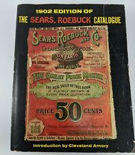 Vtg 1902 Edition Of The Sears Roebuck Catalogue Reprint 1969 ~1162 Pages Catalog