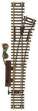 """Atlas HO Scale Code 83 22"""" Remote Right-Hand Turnout/Switch Model Train Track"""