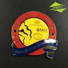 2004 RACV AUSTRALIA DAY HISTORIC VEHICLE DISPLAY ENAMEL GRILLE BADGE AUTOMOBILIA