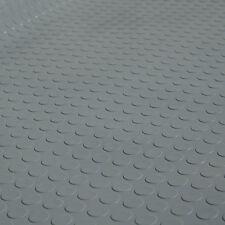 2m² Noppenmatte GRAU Bodenbelag Gummi 1,50m x 1,34m | Stärke: 3mm
