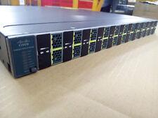 Cisco WS-C3560E-12D-S 12 * 10 GE (X2) ports 2x C3K-PWR-300WAC TESTED