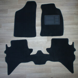 Front & Rear Set Car Floor Mat Made to Fit Ford Courier PG/PH: 11/2002 - 11/2006