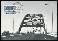 NETHERLANDS MK 1968 BRIDGES BRIDGE BRÜCKEN BRÜCKE CARTE MAXIMUM CARD MC CM be93