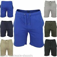 Mens Brave Soul Cotton Sports Gym Drawstring Bottoms Jogging Sweat Pants Shorts
