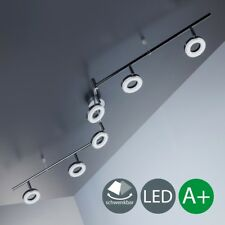 Plafonnier Led Lampes Chrome Salon Place de la Couverture Lampe 6-flammig