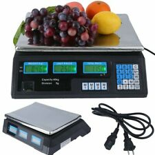 Meat Food Price Computing Retail Digital Scale 88Lb Fruit Produce Counting Bp