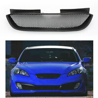 Front Hood Mesh Grille Bumper Grill for Hyundai Genesis Coupe 2008-2009-2011