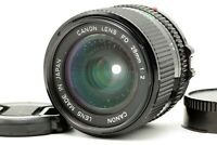 【EXC++++】 Canon New FD NFD 28mm f/2 Wide Angle MF Lens for SLR Camera From JAPAN
