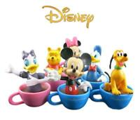 Disney 6 Piece Figurine Set Cake Toppers Lot Pce Winnie Donald Goofy