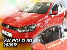 2 Deflettori Aria Antiturbo VW POLO V gen 2009-2017 5 porte