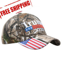 Donald Trump 2020 MAGA Camo Embroidered Hat Make America Great Again Cap