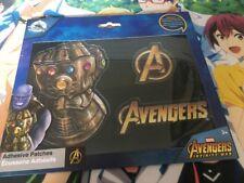 Avengers Infinity guerre 3D souple adhésif Correctifs Marvel Disney Thanos Gauntlet