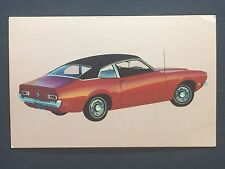 1971 FORD MAVERICK promotional postcard (for dealers use)....ever owned one??