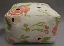 Opalhouse Lucia Embroidered Pouf Ottoman - Floral