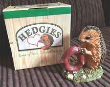 New Boxed Country Artists Hedgies Hedgehog Birthday Figurine Age 0 Newborn Baby