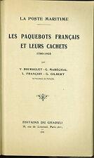 Les Cachets des paquebots français 1780-1935