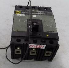 Square D 100A 3 Pole Molded Case Circuit Breaker Fal341001021