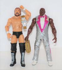 WWE Mattel Elite série exclusive Ted dibease Bodyguard Virgil BRAND NEW