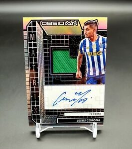 2020/21  Obsidian SOCCER JESUS CORONA AUTOGRAPH/AUTO JERSEY Numbered 146/149