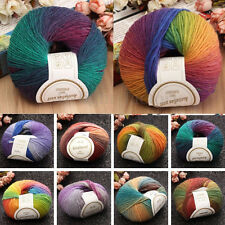 New Style craft Special Double 50g DK Knitting 100% Wool Crochet Yarn 25 colors