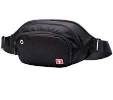 SCHWYZ+CROSS Men's Sport Travel Zip packet Running Belt Waist Bag chest packet